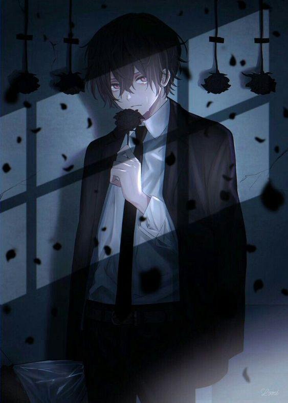Ảnh Anime Nam Buồn (23)